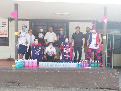 La solidaridad de los hinchas de Cerro con el hospital de Barrio Obrero