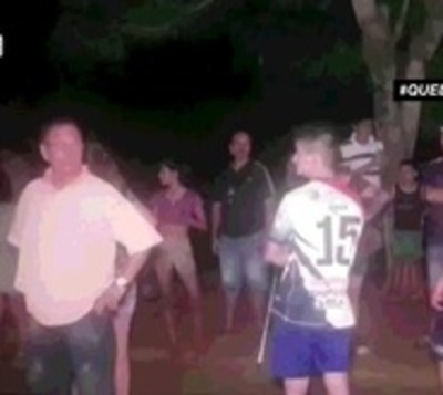 Violenta reacción de vecinos contra personas en cuarentena