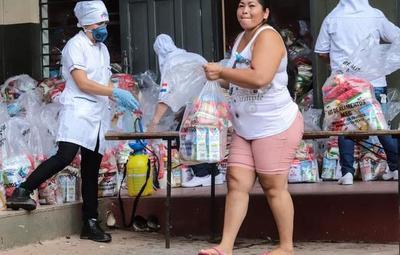 Kits de alimentos para alumnos serán entregados durante toda la cuarentena