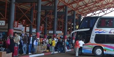 En Semana Santa no habrá servicio de transporte público de pasajeros