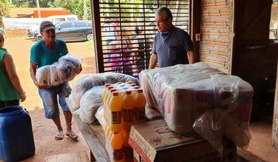 Gobernación inicia tareas de entregas de kits alimentarios