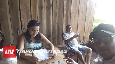 SAN RAFAEL DEL PNÁ: AUTORIDADES ACOMPAÑAN INSCRIPCIÓN DE POSIBLES BENEFICIARIOS DE ASISTENCIA ESTATAL