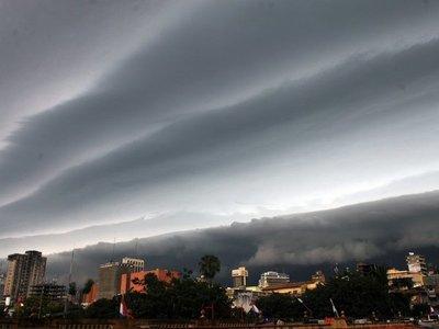 Meteorología anuncia lluvias con tormentas para seis departamentos