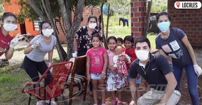 Jóvenes apelan a la solidaridad de la ciudadanía para ayudar a familias vulnerables
