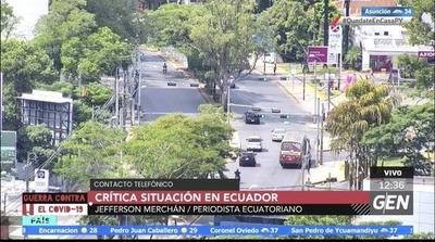 HOY / Jefferson Merchán, Periodista Ecuatoriano, sobre la situación crítica en Ecuador por el coronavirus