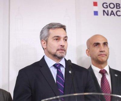 Mario Abdo repudia actitud de funcionarios de Itaipú