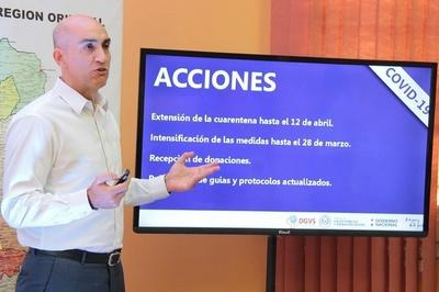 Covid-19: 69 casos confirmados en Paraguay