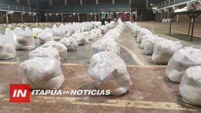 MUNICIPALIDAD DE CAPITÁN MIRANDA ESTÁ PREPARANDO 1000 KITS DE VÍVERES PARA REPARTIR.