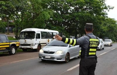Covid-19: Caminera endurece controles y demorará a quienes no justifiquen circulación