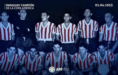 A 67 años de la primera vez que la Selección Paraguaya conquistó el continente