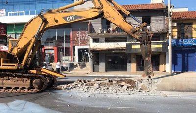 Con demolición de las paradas del Metrobús, buscan reactivar el comercio de la zona » Ñanduti