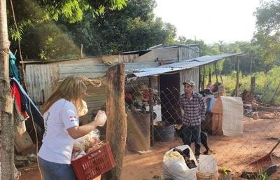 HOY / Eduarda Villalba, pobladora de Capiatá, sobre reclamo por falta de asistencia.