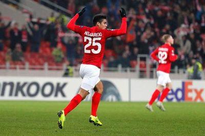 La solidaridad de Melgarejo y del resto del plantel del Spartak