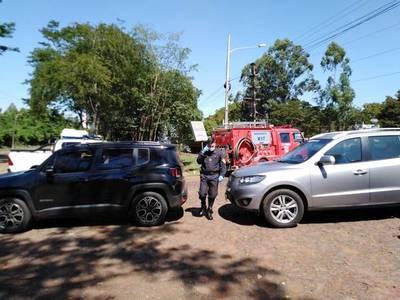 """Brasileños siguen ingresando, algunos """"con permiso especial"""""""