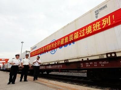 Primer tren de Wuhan desde el brote de coronavirus reanuda conexión con Europa