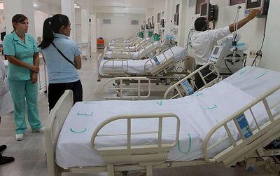 Salud Pública cuenta con 20 camas de terapia en San Pedro y la mayoría no funciona
