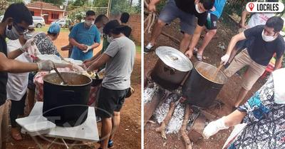 En Cambyretá: Jóvenes solidarios entregaron más de 150 platos de comidas a familias vulnerables