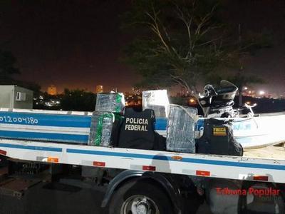 Narcos aprovechan cuarentena para seguir traficando drogas por el rio Paraná