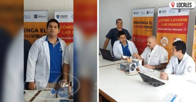 Joven Itapuense forma parte del equipo creador del AMBU automatizado