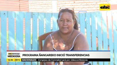 Programa Ñangareko inició transferencias