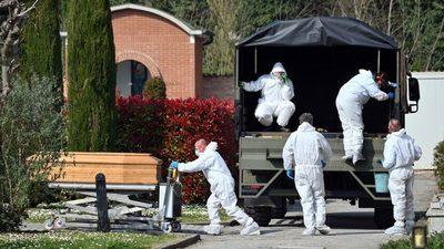 Italia registra 727 muertos por coronavirus, la cifra más baja de los últimos días