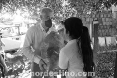 Municipalidad de Pedro Juan Caballero viene entregando víveres a ocho mil quinientas familias de escasos recursos