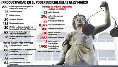 Casos de violencia familiar  encabezan los trámites en el Poder Judicial