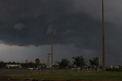 Lluvias, tormentas y descenso de la temperatura