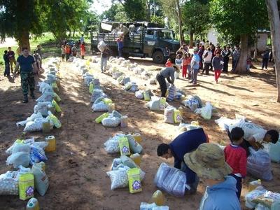 SEN alista 23.000 kits de alimentos para comunidades del Chaco