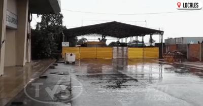 Camioneros son aislados de manera precaria en la zona primaria de Encarnación