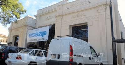 ESSAP exonera a usuarios que pagan G. 50 mil por consumo