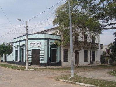 Rociador Sanitario en el Acceso Principal a Pilar.