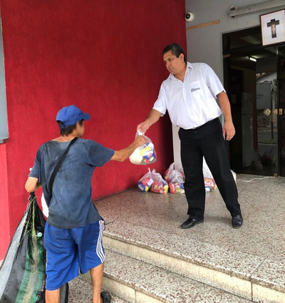 Ministerio de Justicia habilita heladera para personas vulnerables