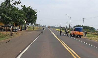 Fuera de centros urbanos, rutas casi vacías, reporta Patrulla Caminera
