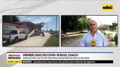 Primer caso de COVID-19 en el Chaco