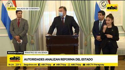 """Reforma Py: """"La idea es que esté vigente en su totalidad en el 2021"""", dice ministro de Hacienda"""