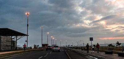 Anuncian viernes fresco y parcialmente nublado
