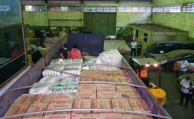 Incautan 35 toneladas de alimentos que ingresaban de contrabando