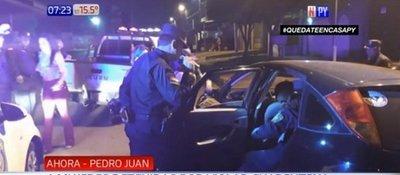 Cuatro mujeres detenidas por violar la cuarentena