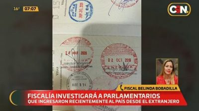 Fiscalía investiga a legisladoras que salieron del país durante cuarentena