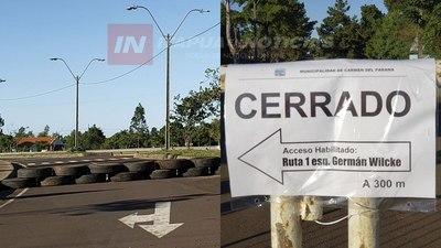 CARMEN DEL PNÁ BLOQUEA ACCESO PARA VISITAS DURANTE SEMANA SANTA