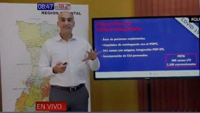 Salud cuenta con 900 camas con oxígeno para la lucha contra el Covid-19