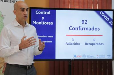 COVID-19: Una de las formas más seguras para cuidarnos es asumir que estamos contagiados, afirma ministro de Salud Pública