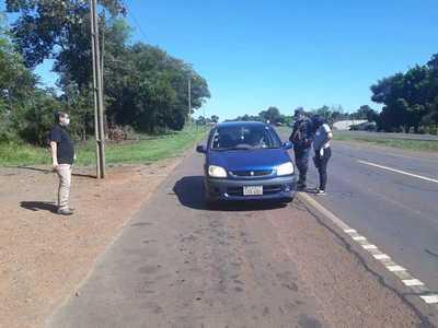 Fiscalía de Yguazú inició fuertes controles para evitar viajes durante Semana Santa