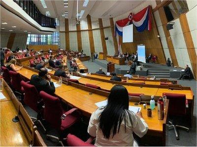 Diputados suspende actividades hasta el 13 de abril