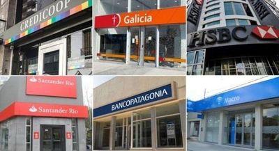 Bancos argentinos abrirán el fin de semana tras aluvión en pleno aislamiento