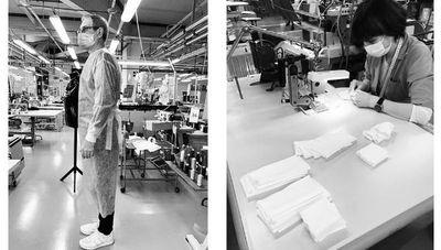 Multinacionales de la industria de la moda que por ahora fabrican insumos médicos