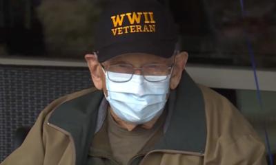 Veterano de la segunda guerra mundial vence al coronavirus a los 104 años