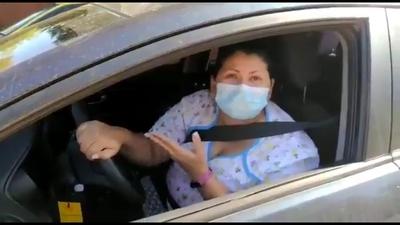 El desesperante pedido de una médica atrapada en el tráfico por culpa de inconscientes