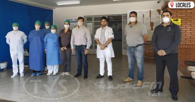 Rotary Club entregó importantes donaciones al IPS de Encarnación
